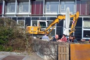 Bauen im Bestand in der UNI Harburg