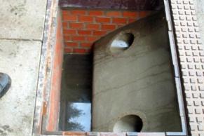 Sonderbauwerk eines Bordsteinstraßeneinlaufes